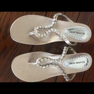 Gianni Bini jeweled sandals